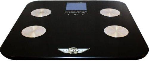 Pèse-personne My Weigh-Galileo, mesure de la masse graisseuse, adler pèse-personne jusqu'à 150 kg gris 31 x 31 cm