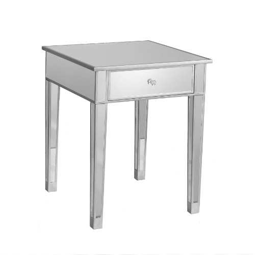 gt cheap sei mirage mirrored accent table home