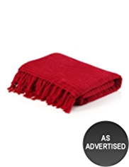 Ribbed Chenille Throw
