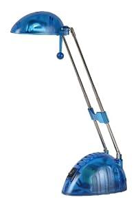 Lucide 12651/21/35 - Flexo de escritorio (12 V/20 W), color azul translúcido marca Lucide