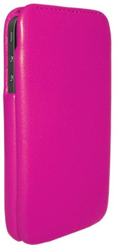 Piel Frama iMagnum Leather Case with Magnet for Apple iPhone 4/4S - Fuchsia Black Friday & Cyber Monday 2014