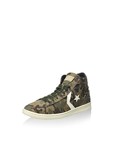Converse Hightop Sneaker Pro Lp Mid Prin militärgrün