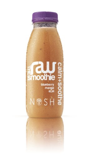 Nosh Detox - Raw Smoothie - Calm & Soothe: Mango, Blueberry, Acai Smoothie - 8 x 250ml