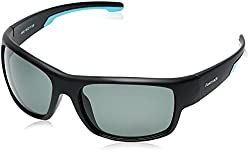 Fastrack UV Protected Wrap-Around Men's Sunglasses (P314GR2P|59|Green)