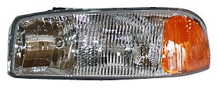 TYC 20-5568-00 GMC Driver Side Headlight Assembly (05 Sierra Headlight Assembly compare prices)