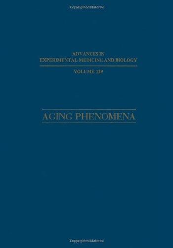 Fenómenos de envejecimiento: Las relaciones entre los diferentes niveles de organización (avances en biología y Medicina Experimental)