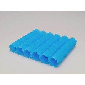 HYP ロングロット30ミリ 6本入 全長ロット部分14cm ブルー