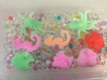 Magic GROWS Giant Jelly BeadZ® Sea CreatureZ fun and educational - 10 different CreatureZ
