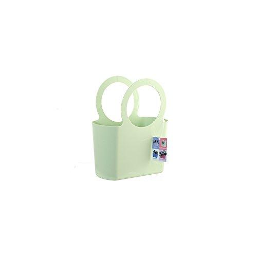 EPOCA Borsetta plastica .bag verde mela Oggetti per la spesa-supermercati