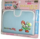 Yoshi Island Cushion Pouch For DS Lite - Light Blue