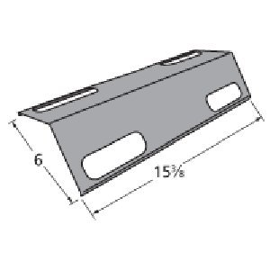 Music City Metals 99351 Porcelain Steel Heat Plate Replacement for Select Ducane Gas Grill Models