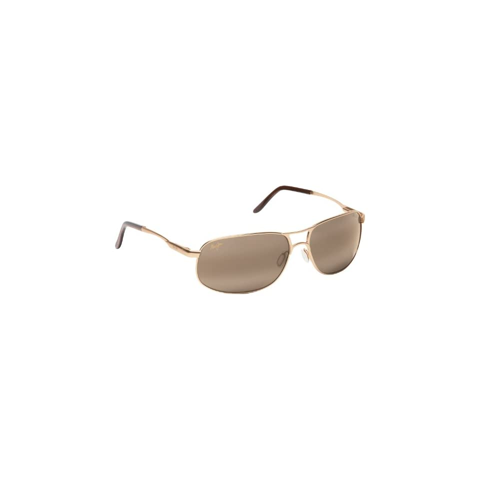 Maui Jim Bayfront 205 Sunglasses, Gold / Bronze Lens, Sunglasses