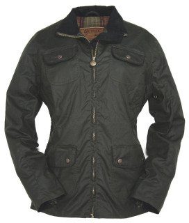 """Outback Trading Co. Ladies """"Under the Wire"""" Oilskin Jacket (X-Large)"""