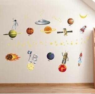 宇宙 太陽系 惑星群(地球 月 火星 木星 土星 宇宙船 UFO等) 壮大 ...