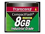 Transcend Industrial Grade CF200I 8GB Compact Flash Memory Card