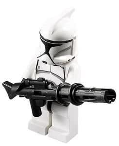 Star Wars Lego: Star Wars Clone Trooper with Long Blaster