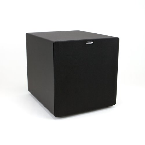 "Power 10 Sub 10"" 100W Front-Firing Rear Ported Subwoofer - Each (Black)"