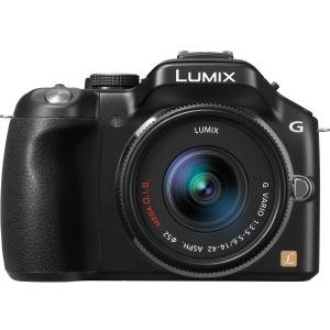 Panasonic DMC-G5KK 16 MP Compact System Camera with 14-42mm Zoom Lens and 3-Inch LCD (Black) by Panasonic