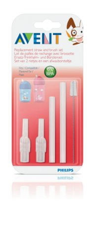 Phillips Avent Straw Replacement Brush Set - 9 Oz - 1