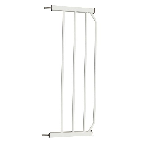 "Cardinal Gates 10"" Extension for AutoLock Pressure Gate, White"