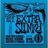 Ernie Ball Extra Slinky 2225 electric guitar strings .008 - .038 (2 PACKS)