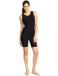 ASICS Women's Solid Modified Wrestling Singlet, Black, Medium