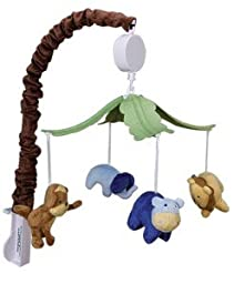 Baby Boy Jungle 123 Mobile Musical Mobile