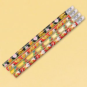 12 Count Chinese New Year Pencil Favors