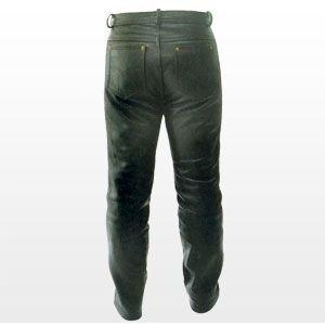 Pantalon en cuir nappa - taille XXL