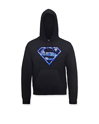 DC Comics Felpa Cappuccio Superman [Bianco]