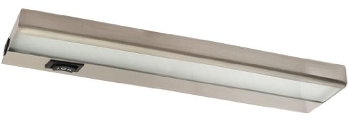 Leducm12Bn - 4 Watt Led Under Cabinet Light Strip, Brushed Nickel
