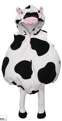 Infant Baby Halloween Costume COW Size 12 months by Carter's