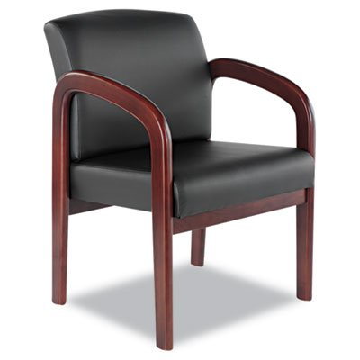 Alera Leather Reception Guest Chair