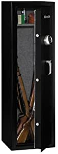 SentrySafe G1055E Electronic Lock Safe, Black Powder Coat, 10-Gun Capacity