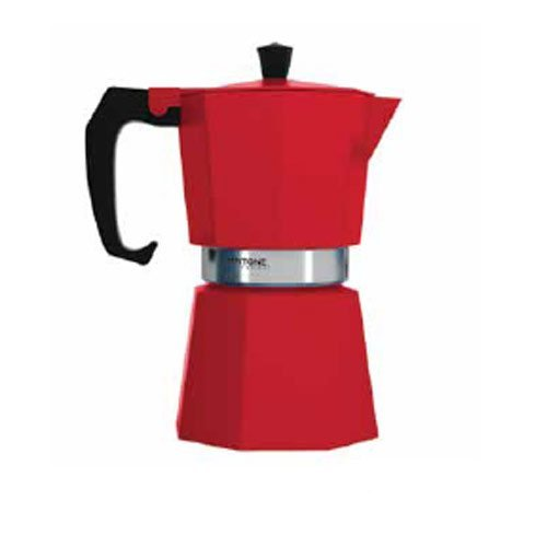 Pantone Coffee Percolator 6 Espresso Cup Strong Red