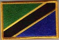 Parche Bordado Bandera Tanzania - 9 x 6 cm   Revisión del cliente y la descripción más