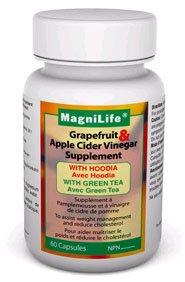 Magnilife Grapefruit & Apple Cider Vinegar Supplement - 60 Capsules