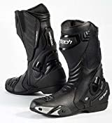 Amazon.com: Cortech Latigo Air Road Race Boots - 9/Black/Black: Automotive
