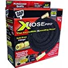 Dap 09106 Xhose PRO The Original Expanding Hose, Black with Solid Brass Fittings, 25-Feet
