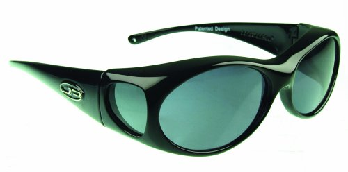Fitovers Eyewear Aurora Sunglasses (Midnight Oil, PDX Grey)