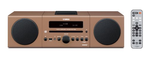 Review and Buying Guide of Cheap Yamaha MCR042 Micro Component System - Brown (Digital Docking, USB Intelli Alarm)