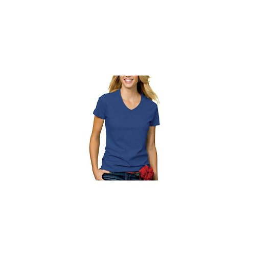 Women 39 s tops tees Relaxed fit women s v neck t shirt