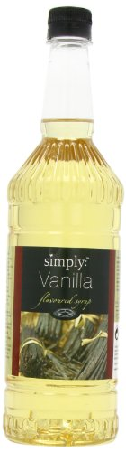 Simply Vanilla Syrup 1 Litre (Pack of 2)