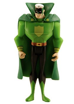 DC Universe Justice League Unlimited Exclusive Justice Guild Action Figure Green Guardsman