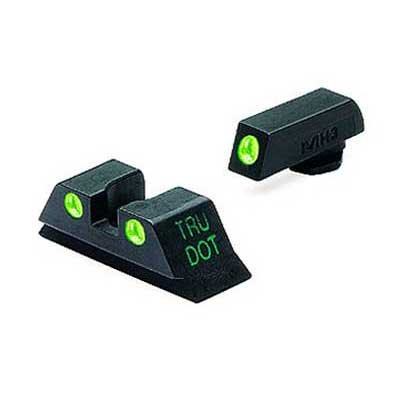 Details for Meprolight Tru - Dot Ml - 10224 Fixed Front Rear Sights For Glock 9 357 40 45 Gap Cal by MEPROLIGHT