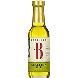 Boyajian Scallion Infused Olive Oil 8 Oz. Bottle