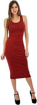 Lyss Loo Body-Con Midi Womens Dress