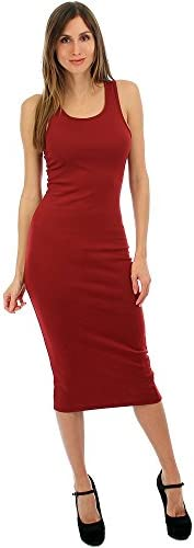 Lyss Loo Body-Con Midi Womens Dress