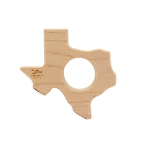 31qX11M8yGL Reviews Natural Wood Teether Texas Toy