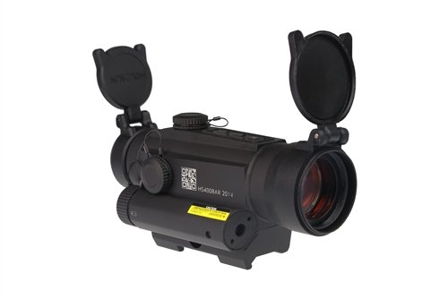 Holosun Infiniti Red Dot Sight With Red Laser And Side Rail